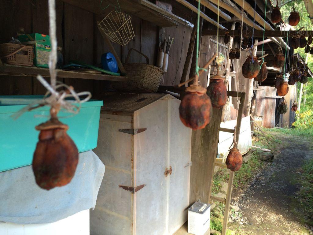 自家製の干し柿
