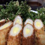 【自然農の野菜で、天ぷら、豚汁】