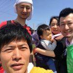 【スナップエンドウ収穫 with 山ね家さん】(2018/04/29)