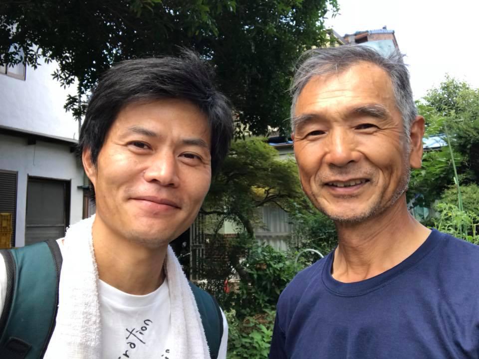 小川さんと記念撮影