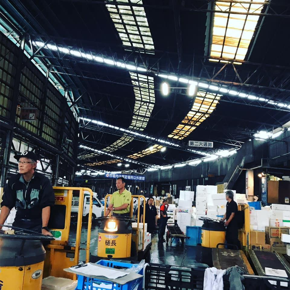 築地市場 場内の様子