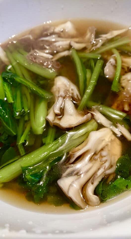 小松菜と舞茸のおひたし