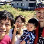 【山ね家さん御一行!農園体験】(2018/10/07)