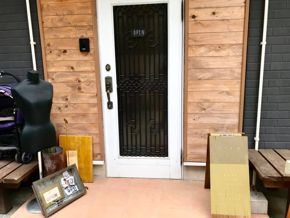 KAMAKURA COWORKING HOUSEの入り口
