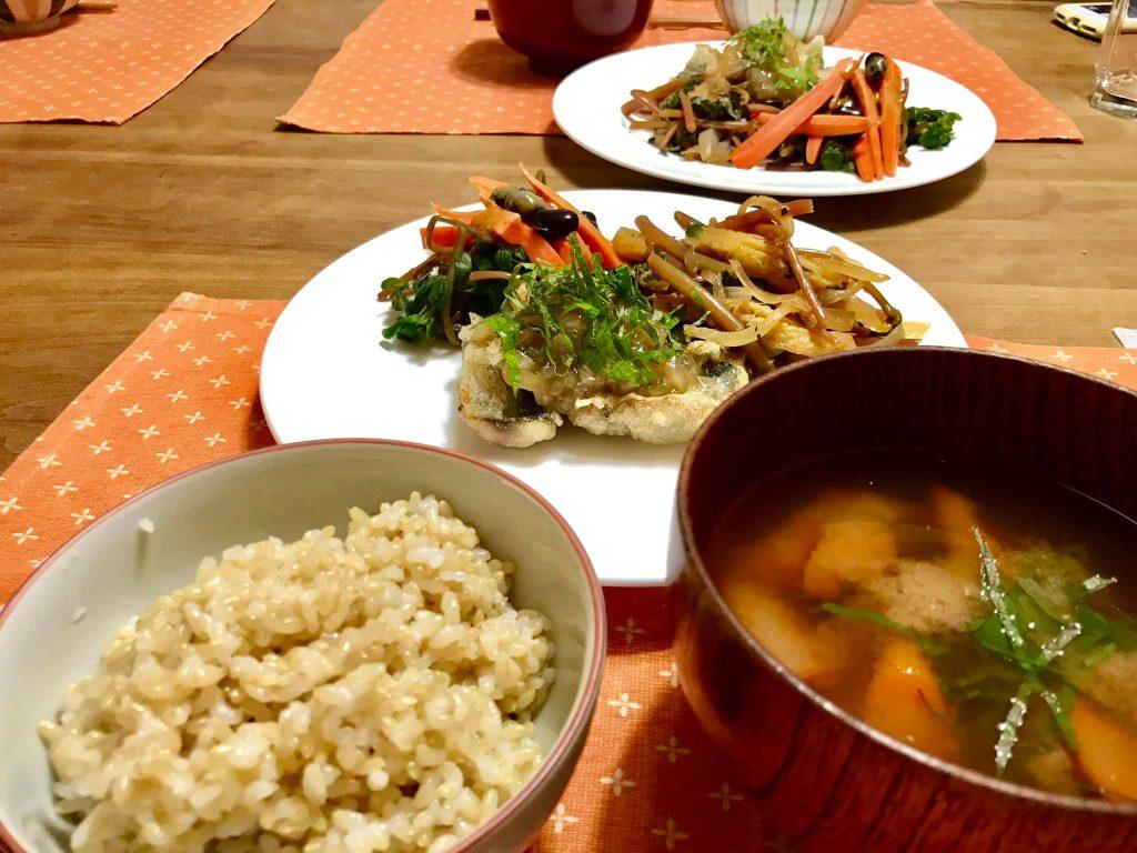 こーじー手作りの自然野菜ランチ
