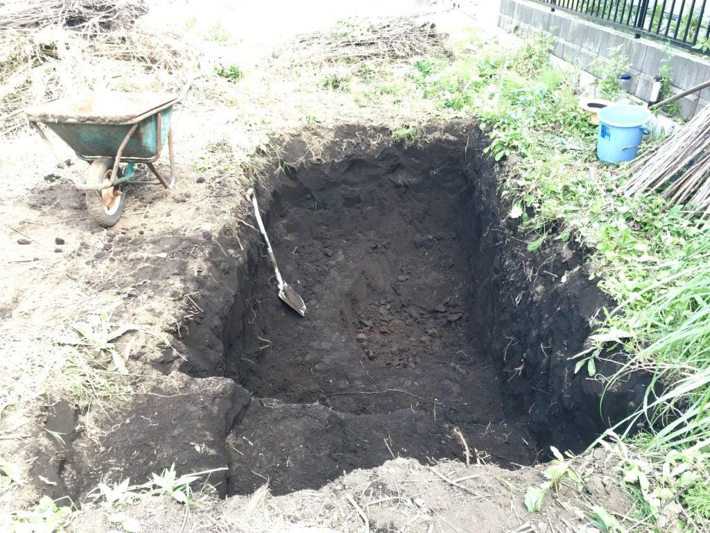 9/27(金):広く掘りました。