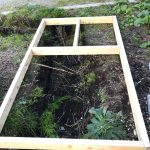 【貯水槽建設】木枠を「釘なし」で作りました(2019/11/08)