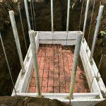 【貯水槽建設】壁の二段目完成♪(2020/02/14)