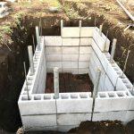 【貯水槽建設】大量資材購入&五段目完了(2020/02/24)