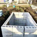 【貯水槽建設】やったー!完成しました!!(2020/03/01)