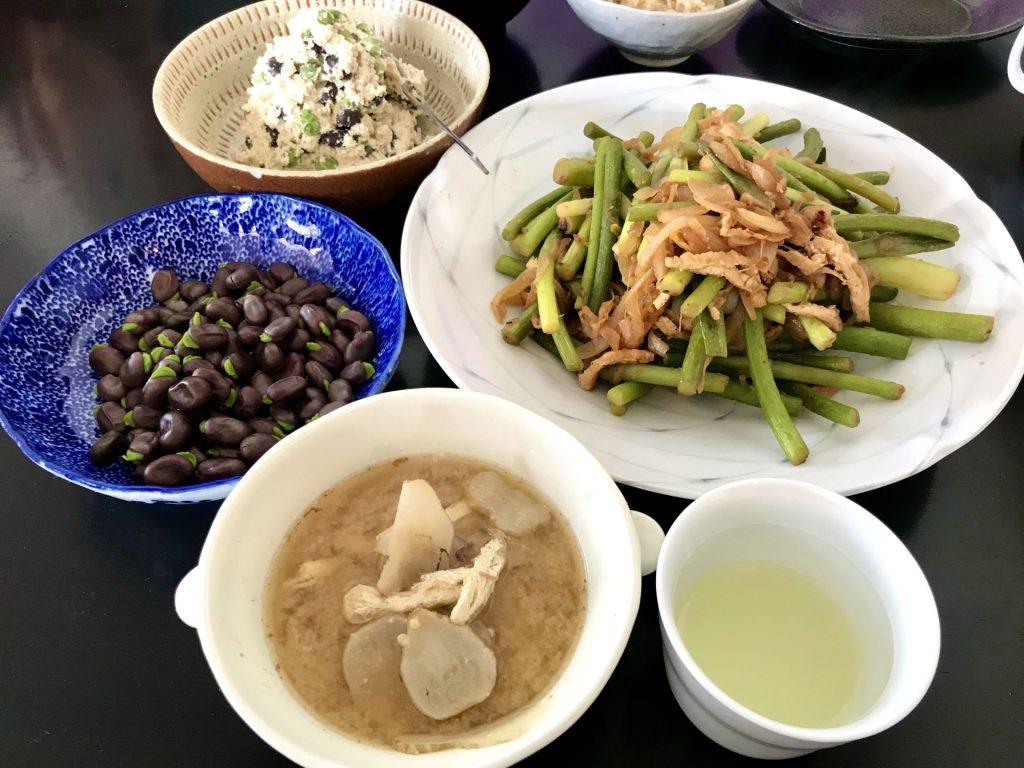 今日の野菜料理