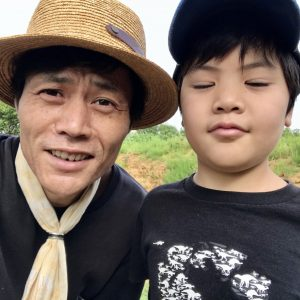 10歳男子とその親父